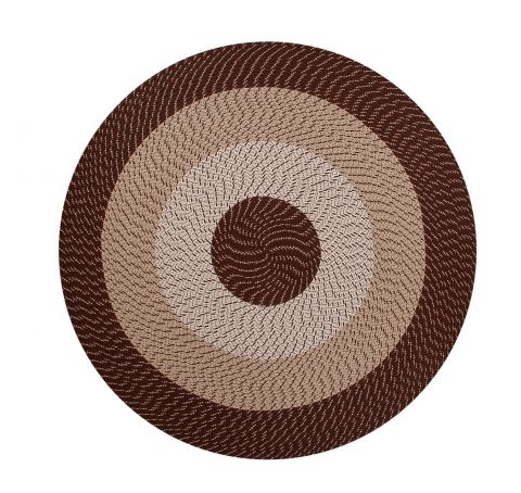 Country Braided Stripe Rugs